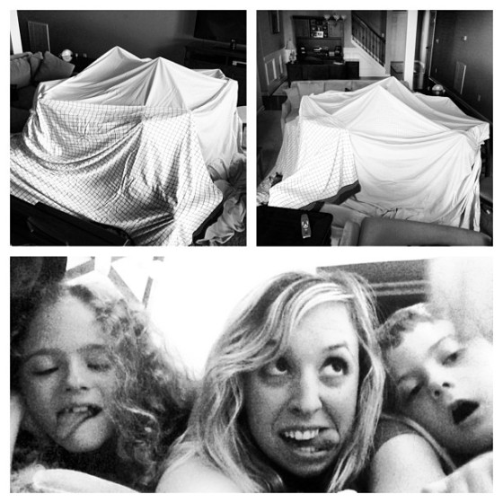 Rainy Days = fort days