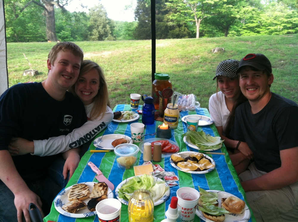 Good ole' family time spent around delicious, wholesome meals!