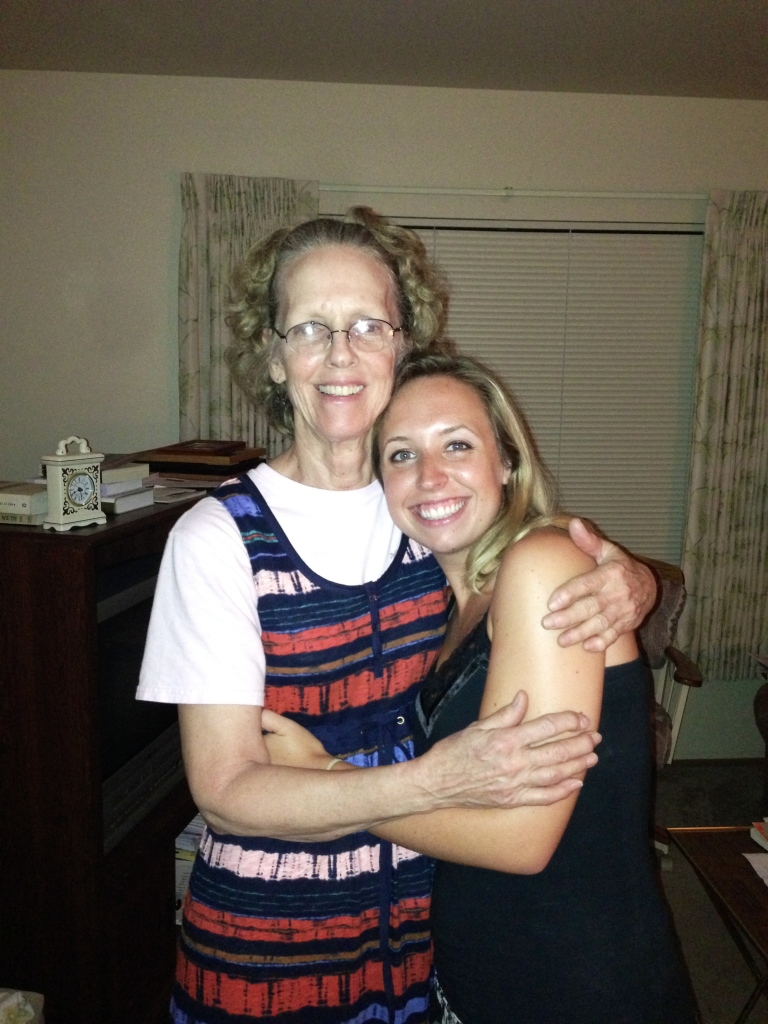 Aunt Patricia and I. She is the sweetest person. Every time she sees me she adderesses me as Mrs. Pomeroy which still makes my heart smile and get all giddy.. then she gives me a big hug and asks me how long Matt and I have been married... literally down to the minute. This was the first trip that I have been able to give her the full answer and I have a feeling that she was pretty proud :)