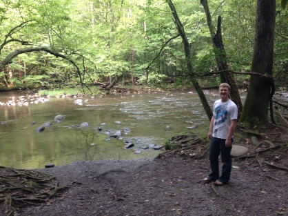 Matt with the river!