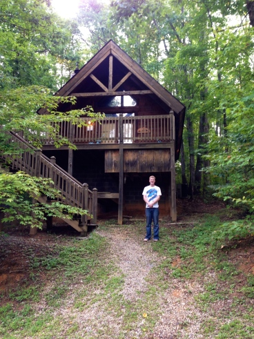 Matt with Mountain Berry Cabin