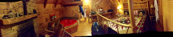 Our Cabin, Mountain Berry, in it's entirety!