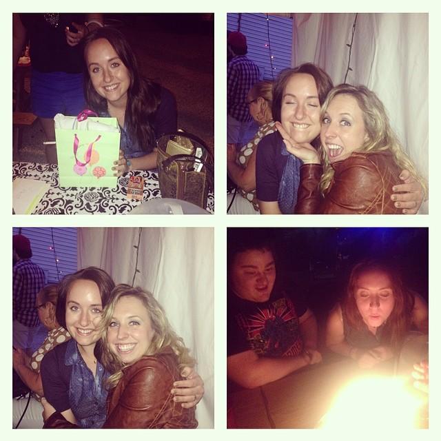 Celebrating her 22nd birthday!