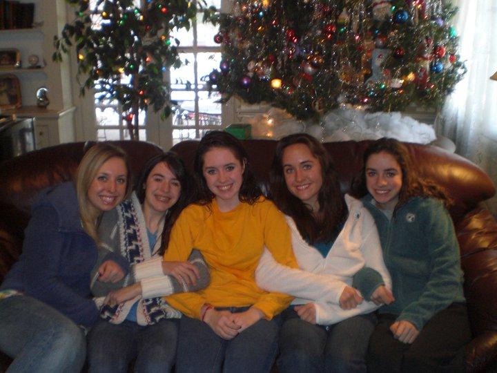 Cousins at Christmas