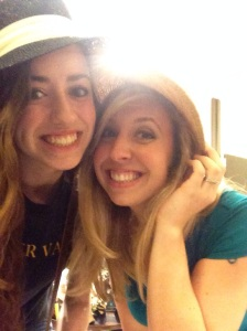 Girl time with Ciara! Shopping and trying on cute hats!