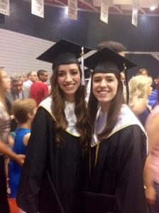 The Graduates! So proud of them!