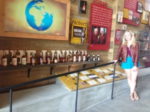 There was a whole wall dedicated to the Bourbon Trail!