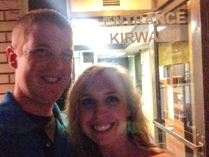 Went to visit Kirwan II where we began our journey as college sweethearts.