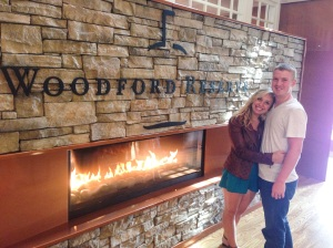 The Sign at Woodford Reserve! This distillery had  the most beautiful grounds since it was nestled in horse country!