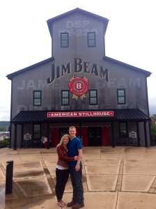 The sign at Jim Beam!