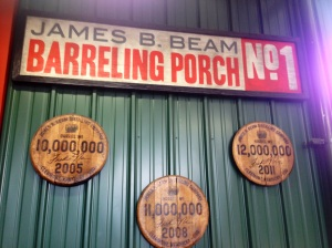 Every three years Jim Beam makes anther million barrels of Bourbon!