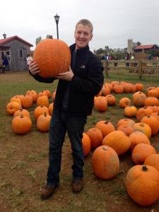 Picking our Pumpkins!