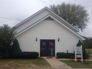 The church Great-Great Grandpa Mac built in Cynthia, KY.