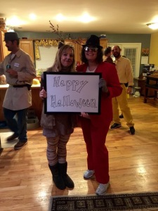 The Birthday girl and I at her Costume Party 30th Birthday Bash! We had such a fun time seeing this lovely lady and hanging out with some of our dearest friends from Lexington. Love you Virginia!
