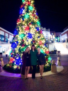 Friendmas 2014! Picture with the pretty Christmas Tree!