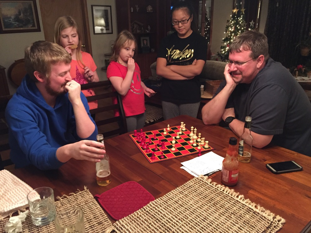 We had a Chess Tornament!