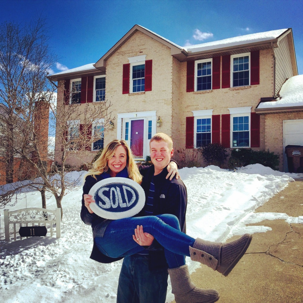 Friday, February 27,2015! The day we closed on our first home!