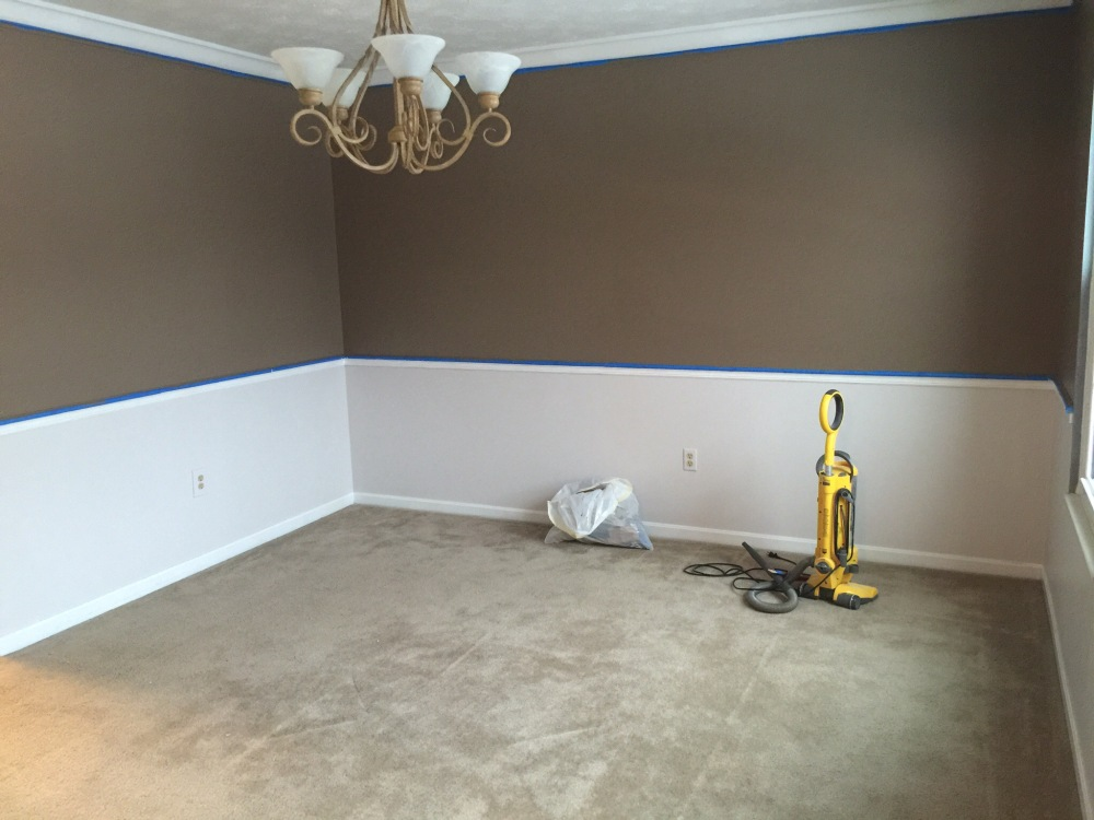 The dining room after!