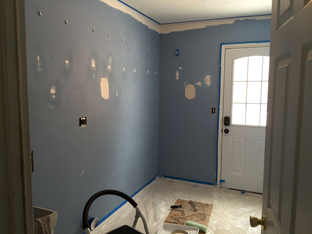 The Laundry/Mudroom before