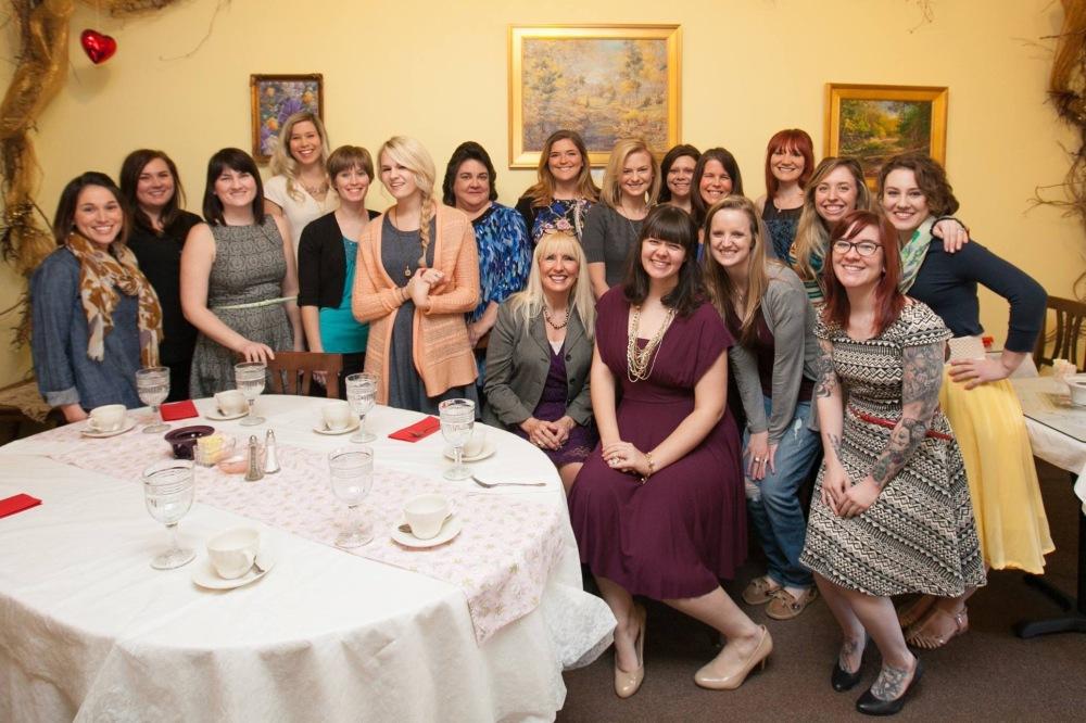 The whole celebration gang!