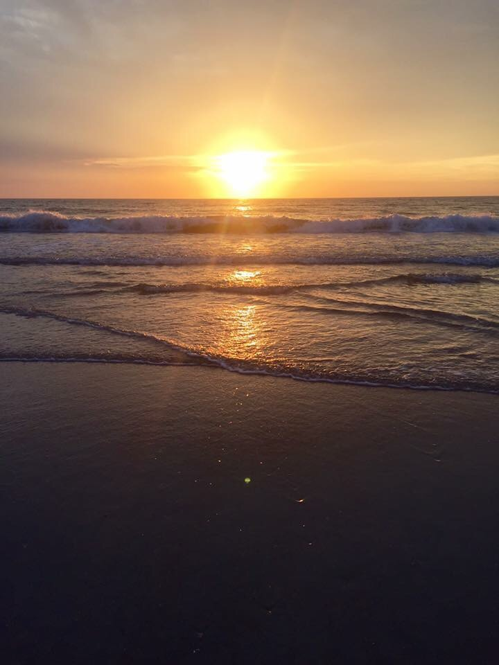 God's beautiful art work! Early Morning Sunrise!