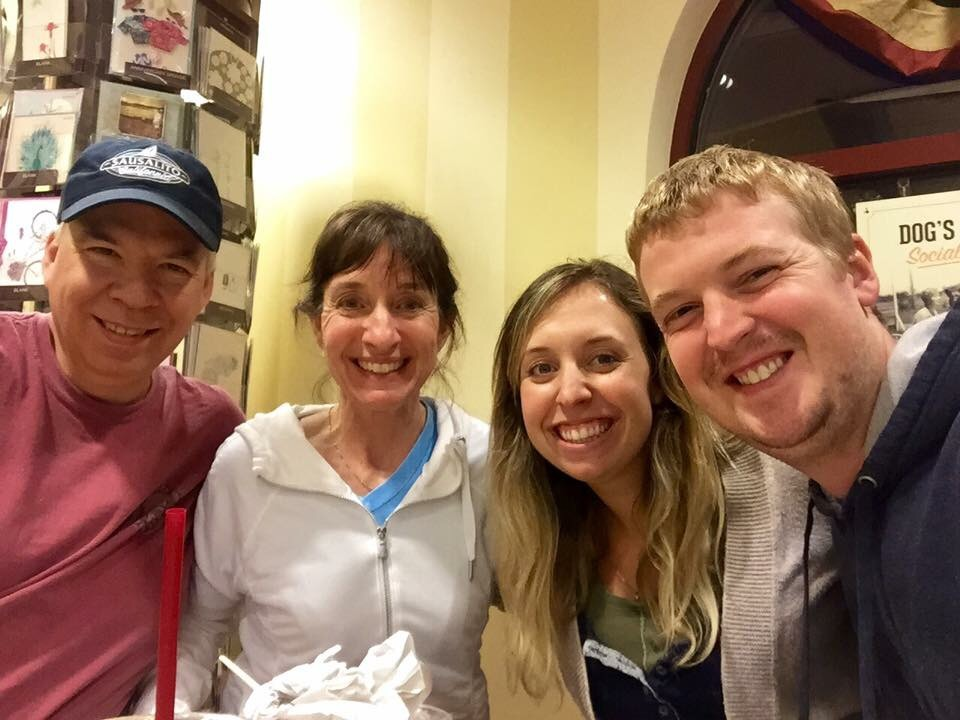 Ice Cream double date with one of our favorite couples!!