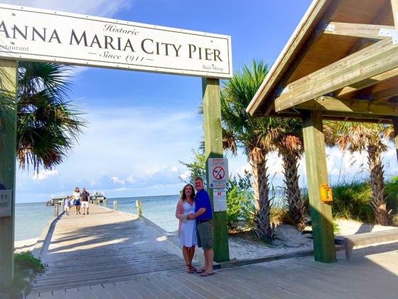 DInner on Anna Maria City Pier!