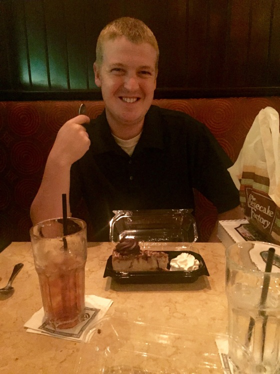 Celebratory Turtle Cheesecake!