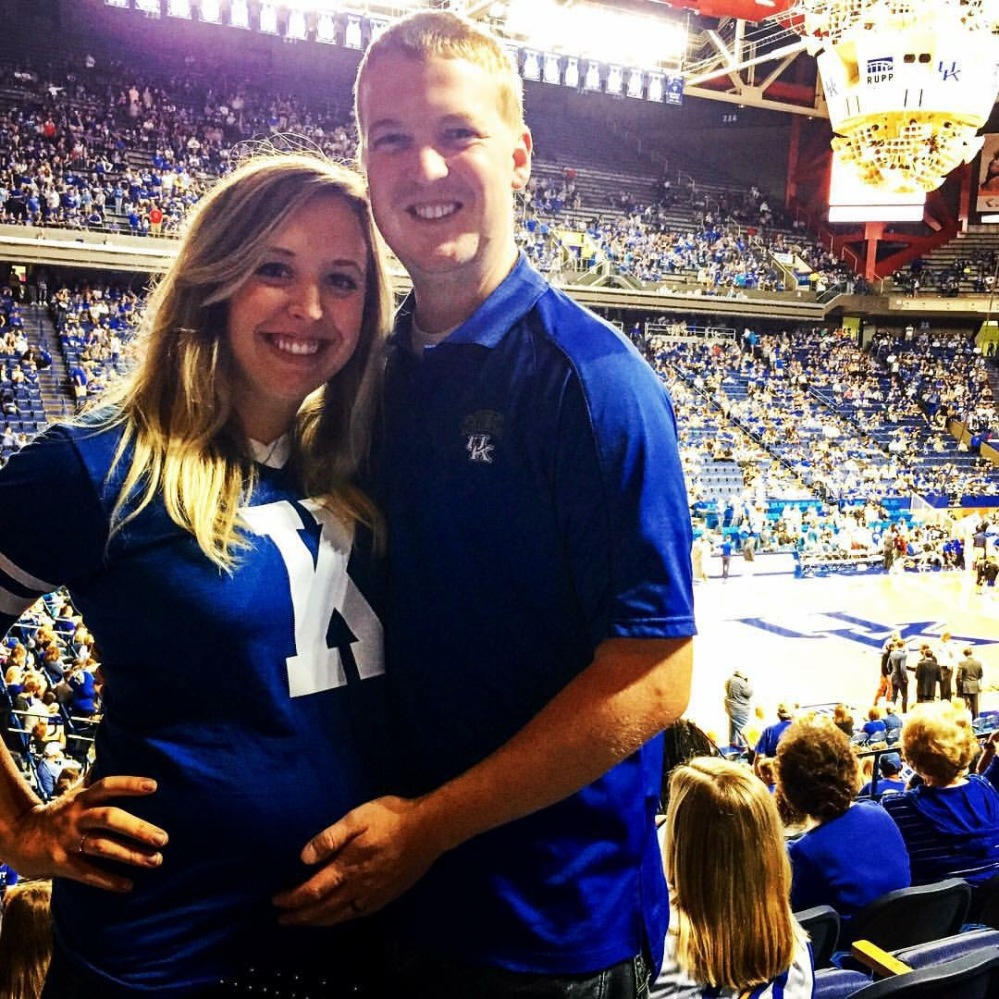 Most likely our last game before our little Wildcat arrives! :)