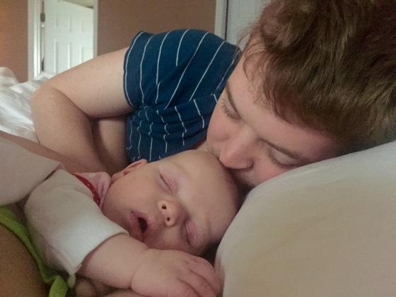 Saturday morning snuggles