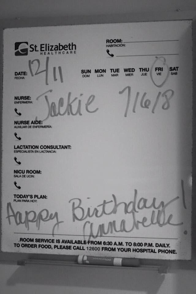 Today's plan: Happy Birthday Annabelle Jane <3