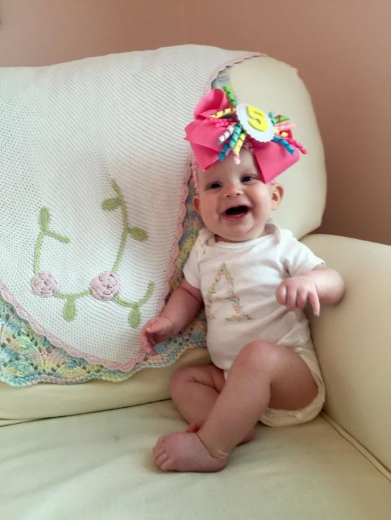 Happy 5 months Annabelle Jane! <3