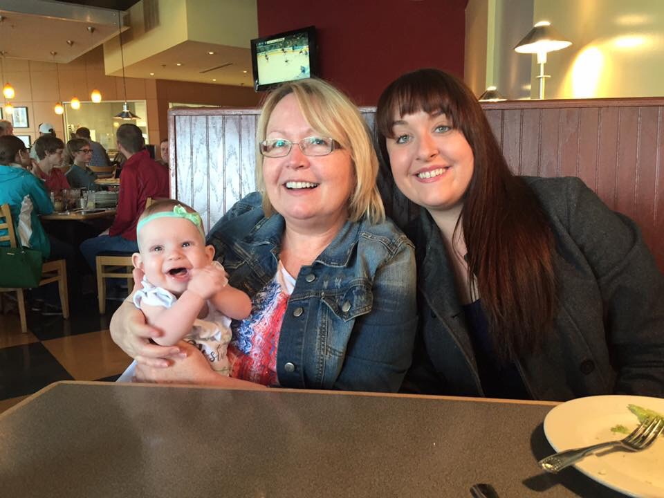 Mothers Day Lunch with Aunt Paige and Mimi
