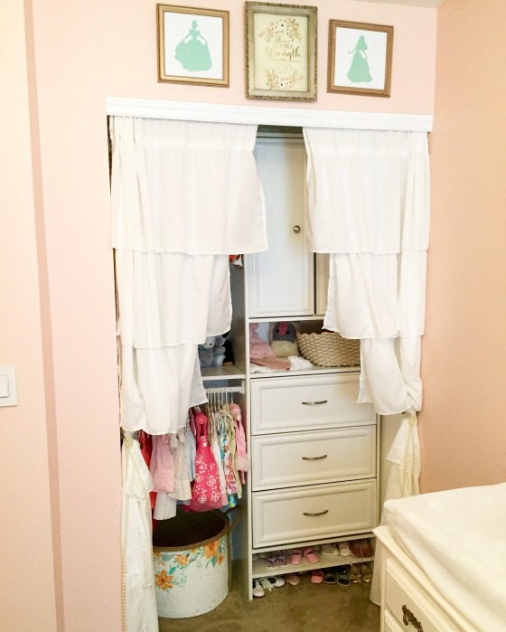 A dressing room fit for a princess!