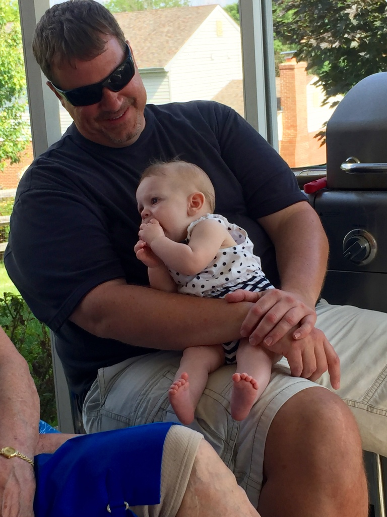 Just relaxing with her Uncle John <3