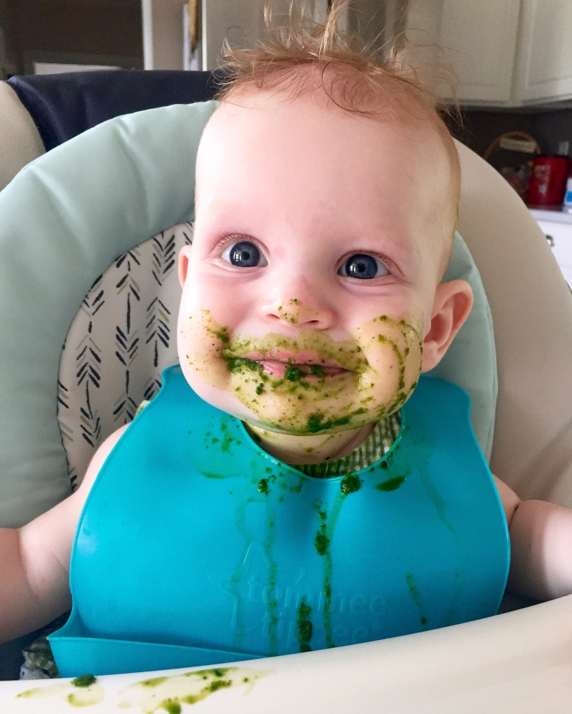 Our little Spinach eater <3