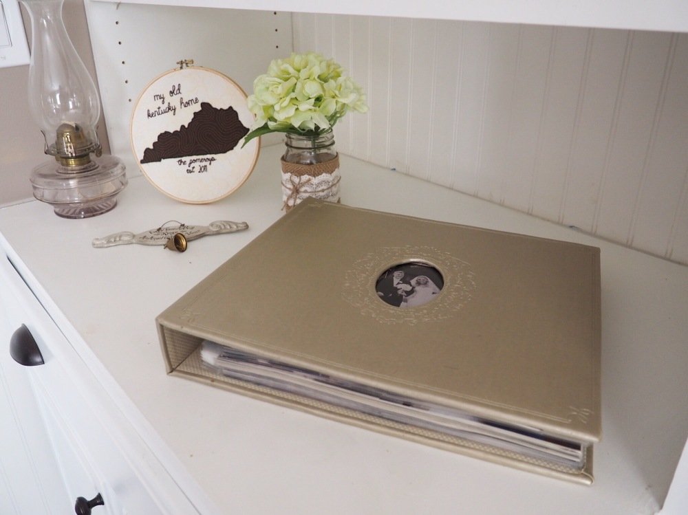 Sentimental decorations, gifts from loved ones and our wedding albums