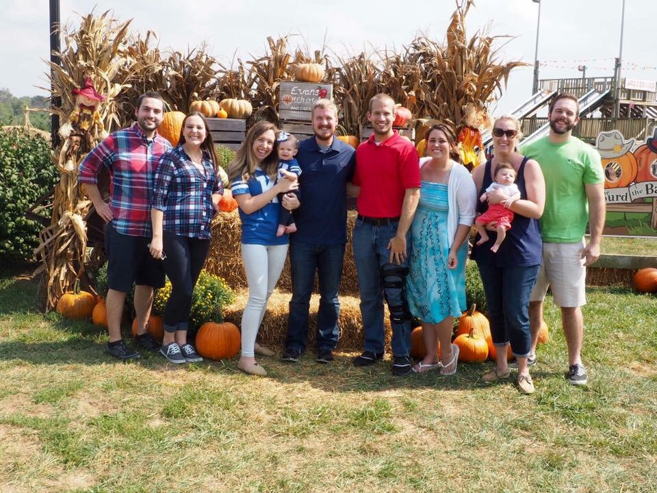 Our group at Evans Orchard!
