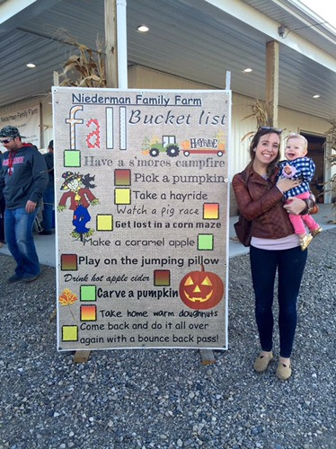 Annabelles fall bucket list!