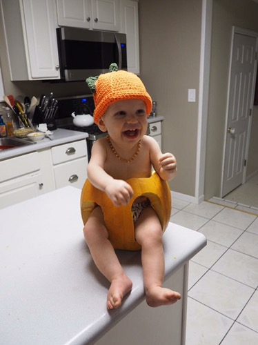most precious punkin' in the patch! <3