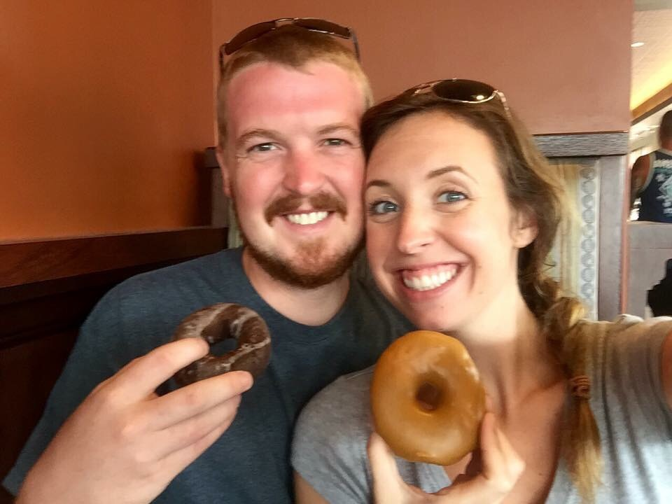 We had to make one more donut stop before heading back to Kentucky of course lol